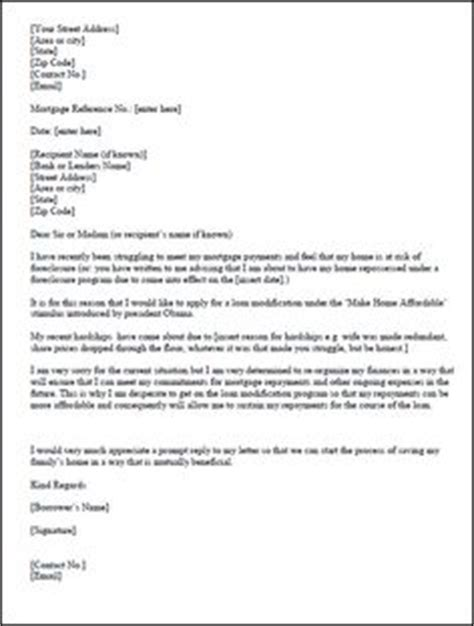 Hardship Letter For Immigration For A Relative 1000 Images About Loan Modification On Letter