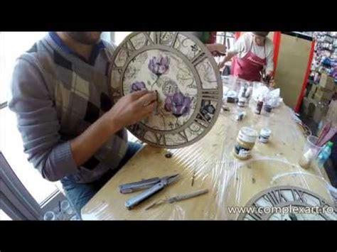 tutorial decoupage orologio tutorial decoupage su orologio in mdf con crackl 232 country