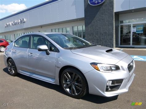 silver subaru wrx 2017 silver metallic subaru wrx limited 115067888