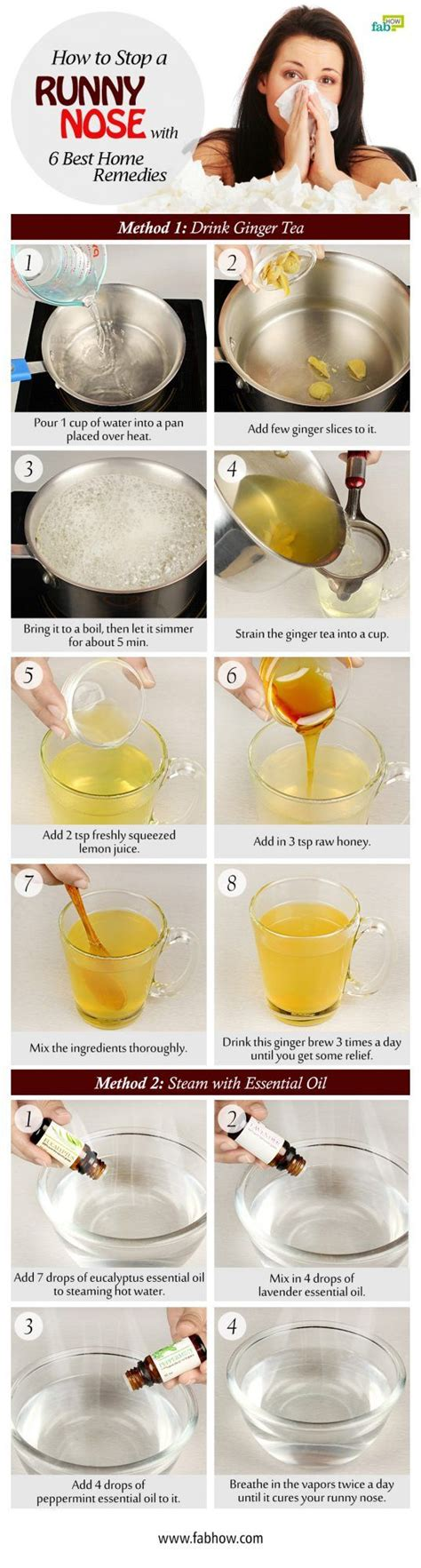 Detox Runny Nose by 25 Best Ideas About Runny Nose Remedies On
