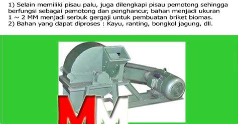 Mesin Wood Crusher mesin pemotong penghancur wood crusher margosari mesin