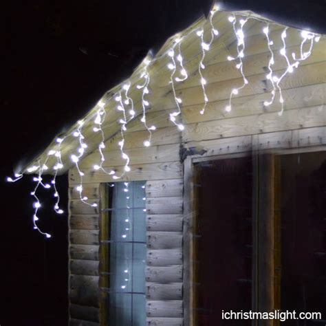 wholesale led decorative white icicle lights ichristmaslight