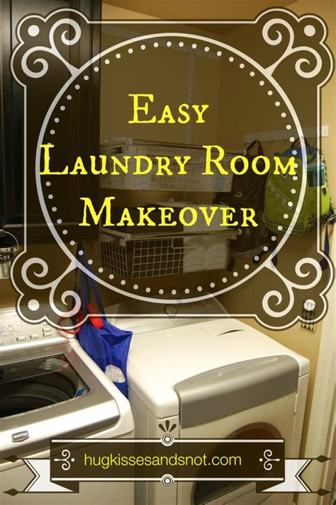 Easy Room Makeover easy laundry room makeover hugs kisses and snot