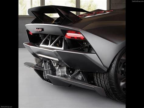 Lamborghini Sesto Elemento Rear Lamborghini Sesto Elemento Concept 2010 Picture 14 Of 17