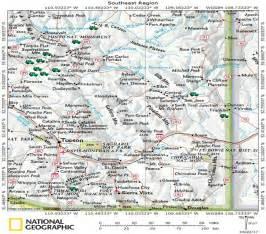 map of southeast arizona southeast region