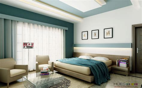 Color Designs For Bedrooms Bedroom Feature Walls