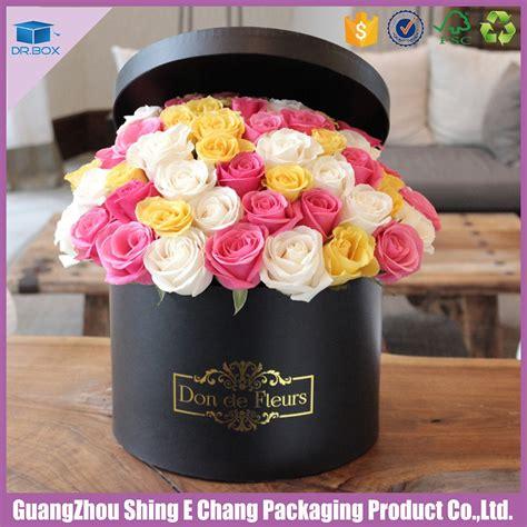 Custom Flower fancy custom logo shipping flower packaging