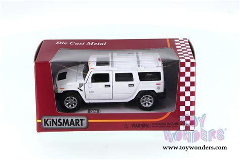 Kinsmart 2008 Hummer H2 Suv 139 White 2008 hummer h2 suv 5337ww 1 40 scale kinsmart wholesale