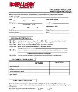 hobby lobby application online job forms