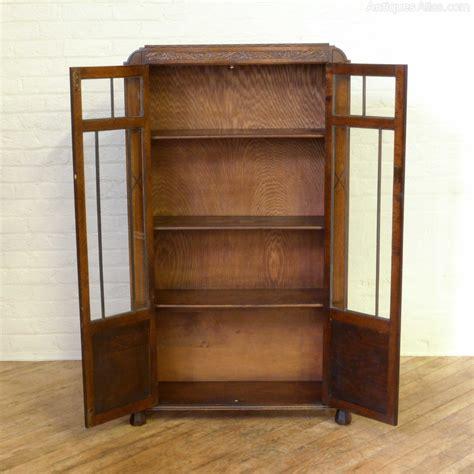 Tall Art Deco Oak Bookcase Antiques Atlas Deco Bookshelves