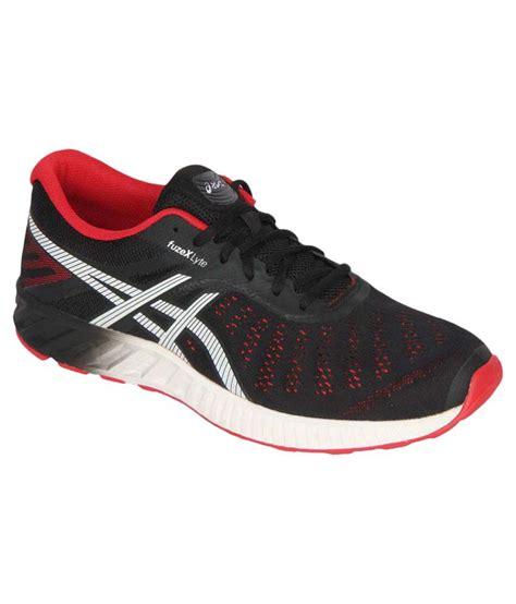 Asics Fuzex Lyte asics fuzex lyte black running shoes buy asics fuzex