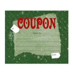 custom coupons free template make your own customizable coupon book free printables