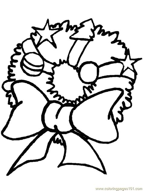 holly wreath coloring page coloring pages christmas wreaths and holly cartoons