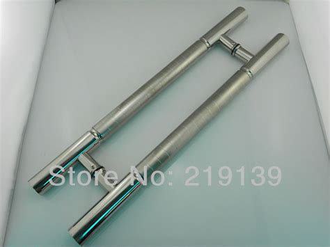 storefront door pull handles tubing 1pair storefront stainless steel glass door handle pull tubing 24 inches for entry furniture