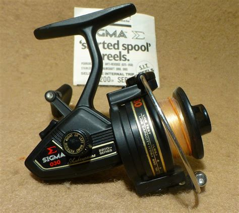 Reel Sigma vintage shakespeare sigma 2200 series 030 spinning fishing
