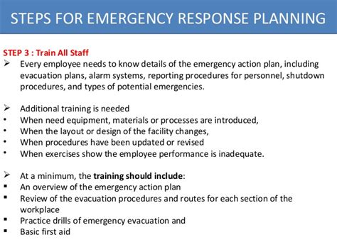emergency procedures in the workplace template osha emergency response plan