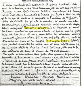 Ashtabula County Birth Records Bartolomeo Colavecchio