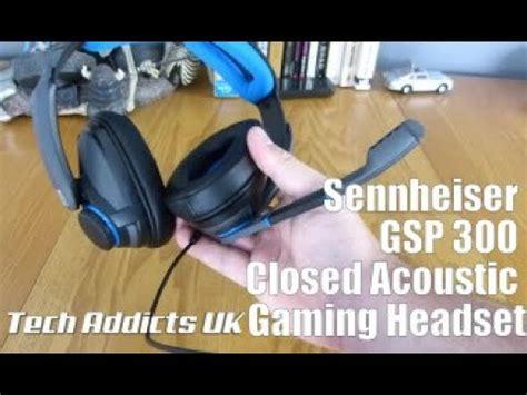 Sennheiser Gaming Headset Gsp300 For Pc Mac Ps4 Black vote no on 300 gaming headset