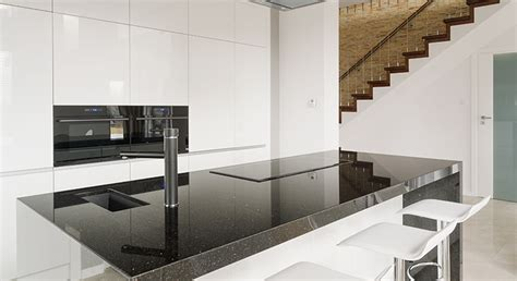 Backsplashes For Kitchens With Granite Countertops by How To Care For Your Black Galaxy Granite Classic
