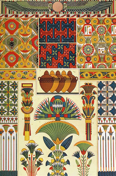 design art egypt ancient egypt ornaments owen jones s the grammar of