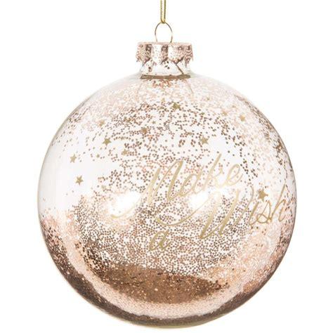 durchsichtige weihnachtskugeln durchsichtige goldfarbene weihnachtskugel aus glas 10 cm