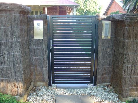 Modern Wrought Iron Gates And Fences Modern Fencing Traditional Home Fencing Gates