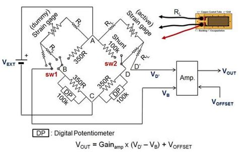 wheatstone bridge johnson noise smart sensor smart structure systems laboratory