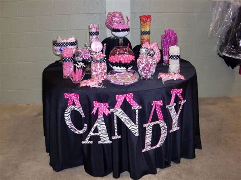 pink and black buffet 25 best images about baby shower on bars table and pink black
