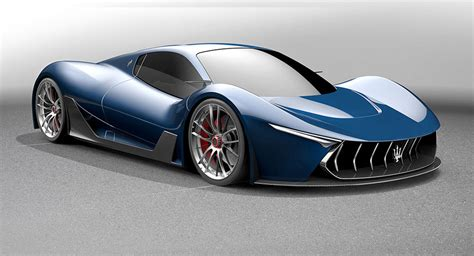 maserati hypercar laferrari based maserati hypercar study looks the part