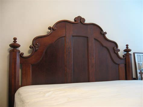 antique king headboard bed frame modification