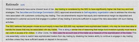 pattern day trader rule canada eli5 why are us citizens not allowed to trade on