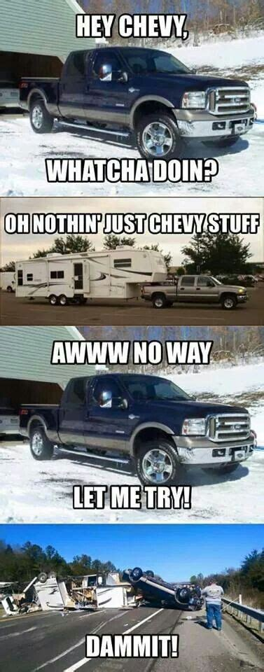 Chevy Vs Ford Memes - 25 best ideas about ford jokes on pinterest ford memes