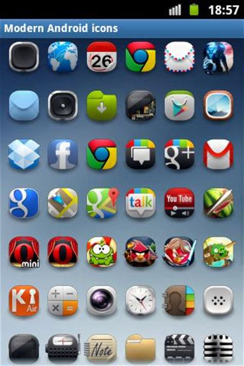 Modern Android icon pack - Android Apps on Google Play