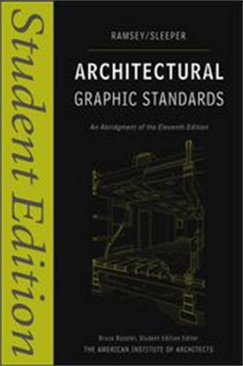 Architectural Graphic Standards Ramsey Sleeper by Architectural Graphic Standards Ebook By Charles George