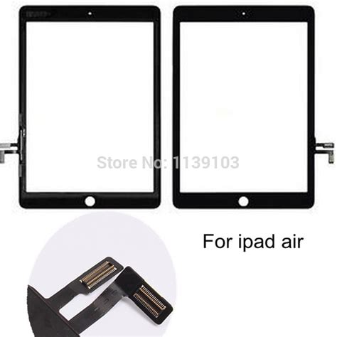 Touchscreen Digitizer Air 5 for air touch digitizer screen white black touch screen for air 5 touch screen free