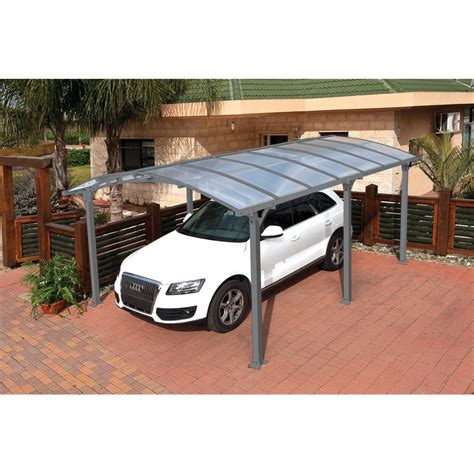 Bunnings Car Port suntuf 5 x 3 6m grey arcadia carport kit bunnings warehouse