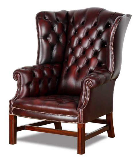 alter ohrensessel originale chesterfield sessel und ohrensessel