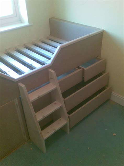 Bed With Built In Drawers by Built In Childrens Cabin Bed With Drawers Guildford