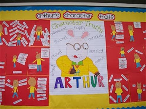picture books for character traits 11 best images about arthur book study and activities on
