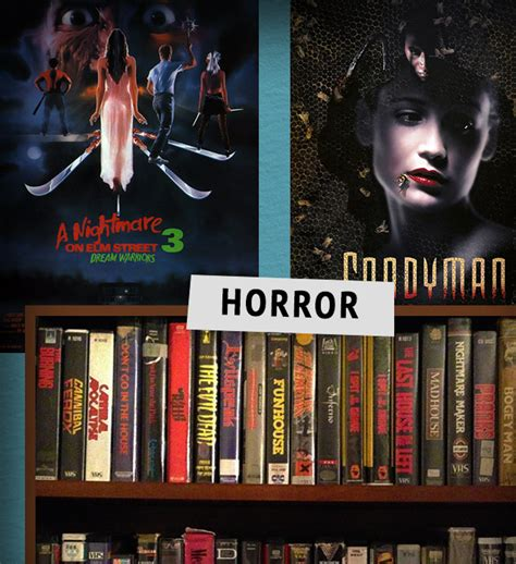 horror section dino drac s video store dinosaur dracula