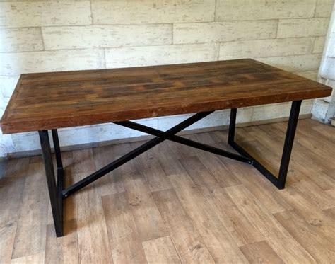 industrial dining tables dining table industrial industrial dining table at