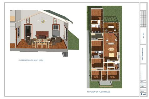 great room addition plans floor plans designed by touyer great room addition