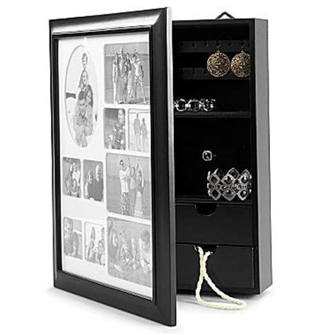 jewelry box wall mount picture frame jcpenney only