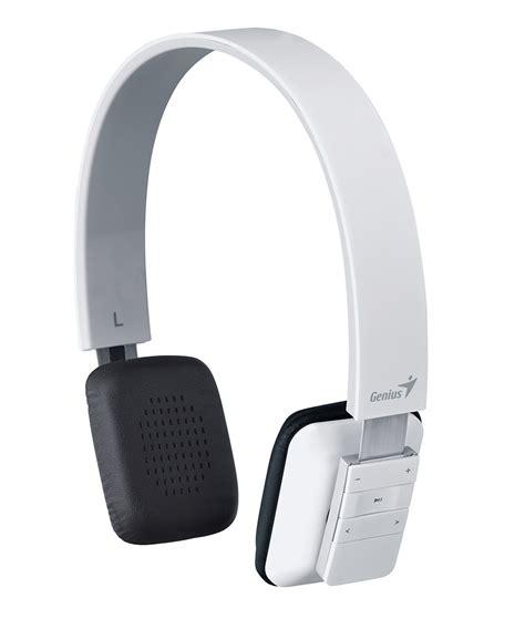 Headset Bluetooth Genius genius hs 920bt bluetooth 4 0 headband headset white