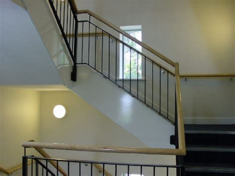 Handrails And Banisters For Stairs Tmc Fabrications Commercial Balustrades