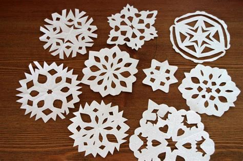 Handmade Paper Snowflakes - how to make paper snowflakes hgtv