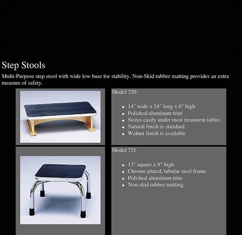 12 Inch High Step Stool by Facilities Management Step Stools Ladders 721 Step