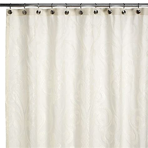 croscill shower curtains excelsior fabric shower curtain by croscill bed bath