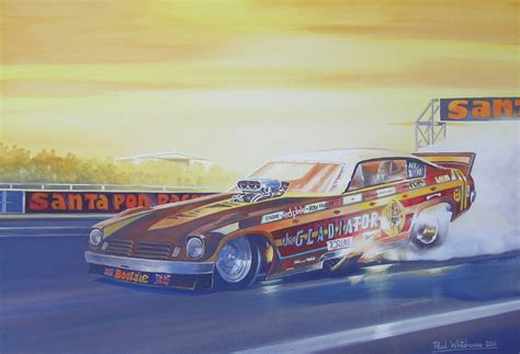 painting racing drag racing paul whitehouse
