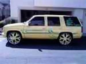 1995 chevrolet lemon drop tahoe lt for sale california